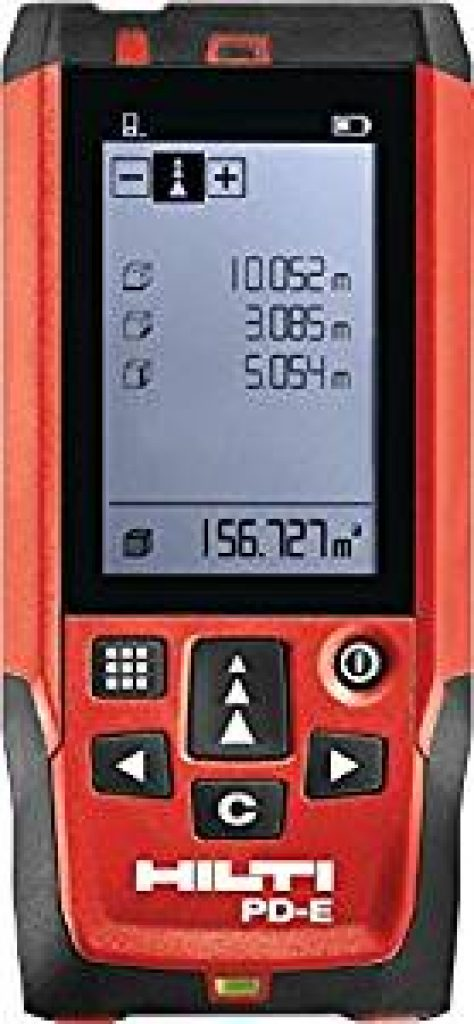 de la Surface et du Volume TDLM21P Angle mesure de la Distance Capteur /Électronique Angulaire m//in//ft//ft+in 30 Stockage de Donn/ées T/él/ém/ètre laser 50M Fonction Muet Mesure laser TECCPO IP54